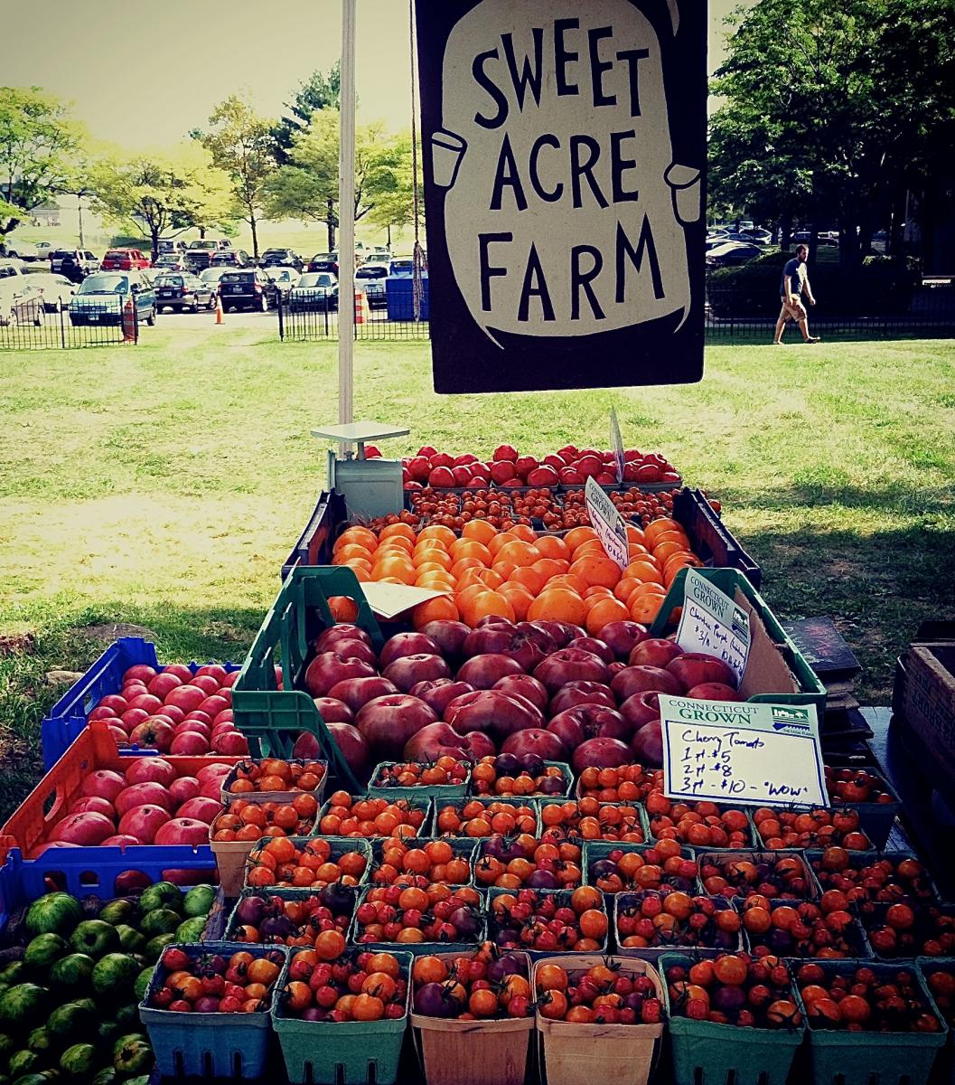 Sweet Acre Farm stand